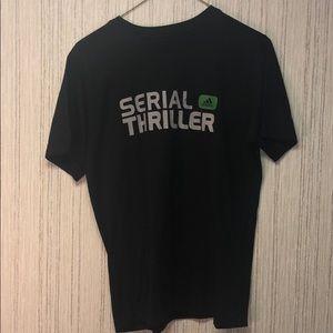 Mens Large Adidas Serial Thriller Shirt